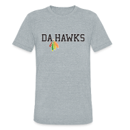 T-Shirts ~ Men's Tri-Blend Vintage T-Shirt ~ Da Hawks