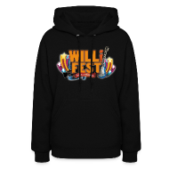 WILLiFEST Women's Lightweight Hoodie