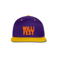 WILLiFEST High-Contrast Snap-Back Baseball Cap