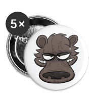 Buttons ~ Large Buttons ~ Shower Bear Button!