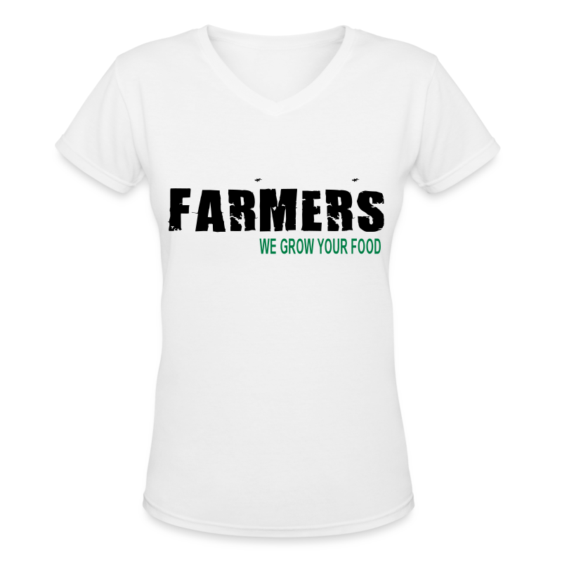 Farmers - We Grow Your Food Womens T-Shirt