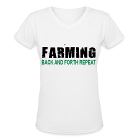 Farming Back And Fourth - Womens T-Shirt
