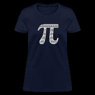 Women's T-Shirts ~ Women's T-Shirt ~ Pi by Pis