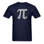 T-Shirts ~ Men's T-Shirt ~ Pi by Pis
