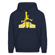 Hoodies ~ Men's Hooded Sweatshirt ~ Krypto-Nate - Hoodie