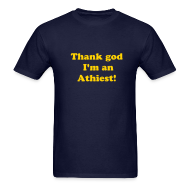 T-Shirts ~ Men's T-Shirt ~ Thank god...