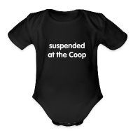 Baby & Toddler Shirts ~ Baby Short Sleeve One Piece ~ Suspended