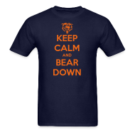 T-Shirts ~ Men's T-Shirt ~ Keep Calm and Bear Down