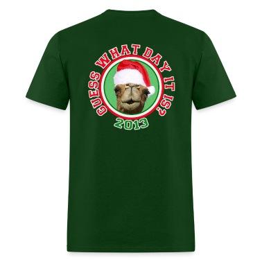 Christmas 2013 Hump Day Camel T-shirt