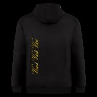 Zip Hoodies & Jackets ~ Men's Zip Hoodie ~ Zyzz Zip Hoodie (Vector)
