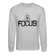 Long Sleeve Shirts ~ Men's Crewneck Sweatshirt ~ Focus | Mens jumper