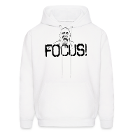 Hoodies ~ Men's Hooded Sweatshirt ~ Focus | Mens hoodie