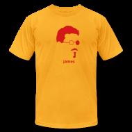 T-Shirts ~ Men's T-Shirt by American Apparel ~ [james_joyce]