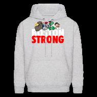 Hoodies ~ Men's Hooded Sweatshirt ~ Boston Strong Mascots12
