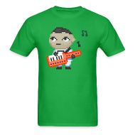 T-Shirts ~ Men's T-Shirt ~ Big Girl - Sips Keytar