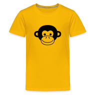 Kids' Shirts ~ Kid's Premium T-Shirt ~ Monkey Face
