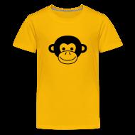 Kids' Shirts ~ Kid's Premium T-Shirt ~ Monkey Face