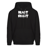 Hoodies ~ Men's Hooded Sweatshirt ~ Beast Coast Hoodie
