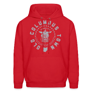 Hoodies ~ Men's Hooded Sweatshirt ~ OLD COLUMBUS TOWN - HOOD