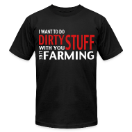 T-Shirts ~ Men's T-Shirt by American Apparel ~ LikeFarming