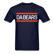 T-Shirts ~ Men's T-Shirt ~ DA BEARS 8-bit Retro