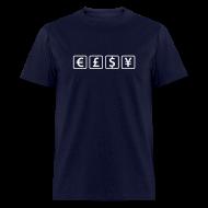 T-Shirts ~ Men's T-Shirt ~ Currencies