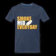 T-Shirts ~ Men's Premium T-Shirt ~ Smoke Mid Everyday
