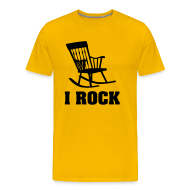 T-Shirts ~ Men's Premium T-Shirt ~ Cool T-shirt I Rock!