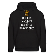 Hoodies ~ Men's Hooded Sweatshirt ~ 'KEEP CALM' Hoodie