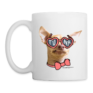 Bottles & Mugs ~ Coffee/Tea Mug ~ Tuna Heart Shades Mug