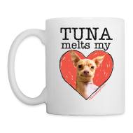 Bottles & Mugs ~ Coffee/Tea Mug ~ Tuna Melts My Heart Mug