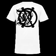 T-Shirts ~ Men's V-Neck T-Shirt by Canvas ~ DOX LOGO MEN'S V-NECK
