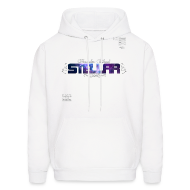 Hoodies ~ Men's Hooded Sweatshirt ~ OFFICIAL STELLAR ART SWEATSHIRT (WHITE)