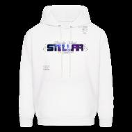 Hoodies ~ Men's Hooded Sweatshirt ~ OFFICIAL STELLAR ART SWEATSHIRT (WHITE)