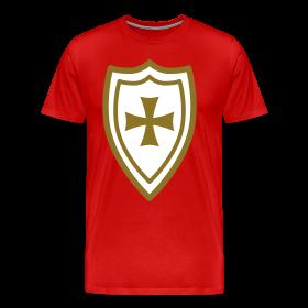 Animal 2c knights templar design 2c men s amp women s t shirt 1850