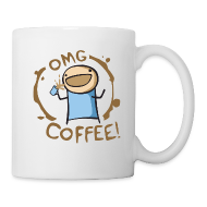 Bottles & Mugs ~ Coffee/Tea Mug ~ OMG COFFEE! Mug