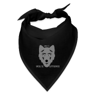Caps ~ Bandana ~ MFX - Wolfie Approved - Bandanna Of The Wolf