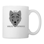 Bottles & Mugs ~ Coffee/Tea Mug ~ MFX - Wolfie Approved - Mug