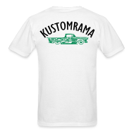 T-Shirts ~ Men's T-Shirt ~ The Kustomrama Dream Truck