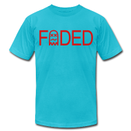 T-Shirts ~ Men's T-Shirt by American Apparel ~ trademarked faded