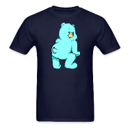 T-Shirts ~ Men's T-Shirt ~ BLUE TEDDY - Men
