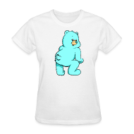 Women's T-Shirts ~ Women's T-Shirt ~ BLUE TEDDY - Women