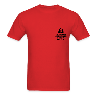 T-Shirts ~ Men's T-Shirt ~ Chilipepper Correctional Facility - Red