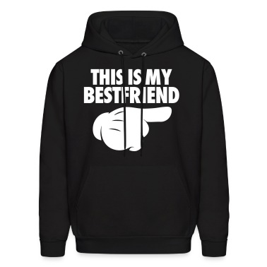 This Is My Bestfriend (Pointing Right) Hoodies