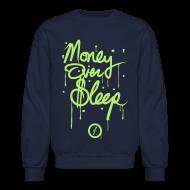 Long Sleeve Shirts ~ Men's Crewneck Sweatshirt ~ MOS