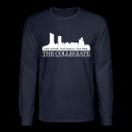Long Sleeve Shirts ~ Men's Long Sleeve T-Shirt ~ Collegiate Long-sleeve