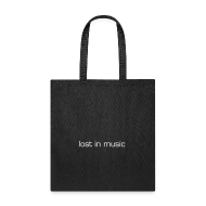 Bags & backpacks ~ Tote Bag ~ lost in music tote bag
