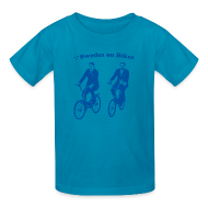 Kids' Shirts ~ Kids' T-Shirt ~ Swedes On Bikes Kids T-Shirt
