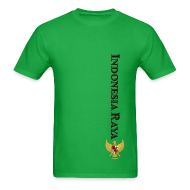 T-Shirts ~ Men's T-Shirt ~ Indonesia Raya Merdeka Series