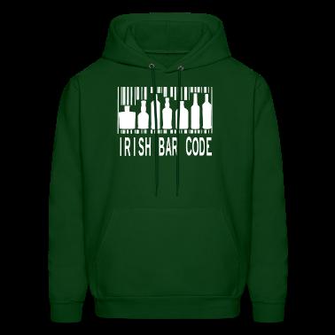 Irish Barcode Hoodies